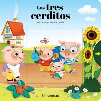 Portada LOS TRES CERDITOS. CON MECANISMOS -  - CIRCULO DE LECTORES