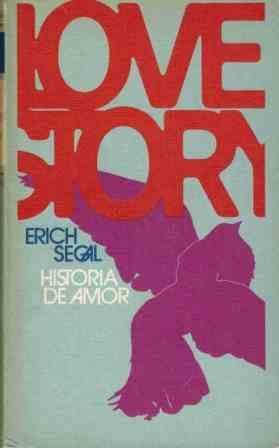 Portada LOVE STORY HISTORIA DE AMOR - ERICH SEGAL - CIRCULO DE LECTORES