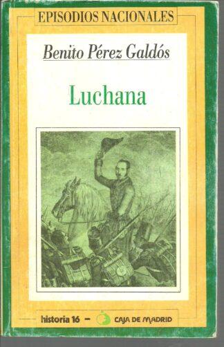 Portada LUCHANA - BENITO PEREZ GALDOS - HERNANDO