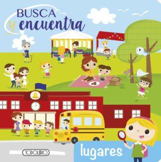 Portada LUGARES BUSCA Y ENCUENTRA - AA.VV - TODOLIBRO