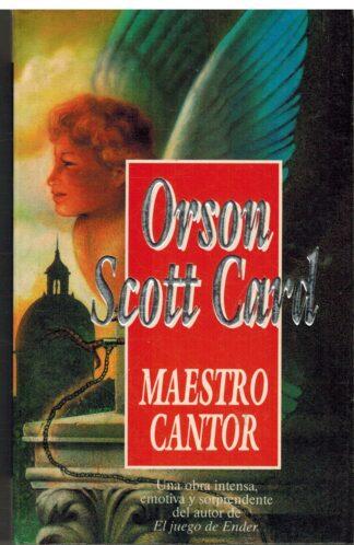 Portada MAESTRO CANTOR - ORSON SCOTT CARD - EDICIONES B