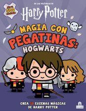Portada MAGIA CON PEGATINAS: HOGWARTS -  -