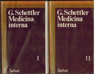 Portada MEDICINA INTERNA. TOMO I Y II - G. SCHETTLET - SALVAT