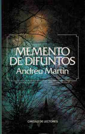 Portada MEMENTO DE DIFUNTOS - ANDREU MARTIN - CIRCULO DE LECTORES
