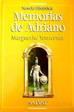 Portada MEMORIAS DE ADRIANO - MARGUERITE YOURCENAR - SALVAT