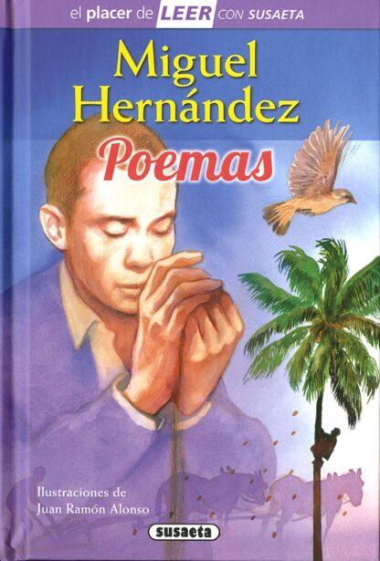 Portada MIGUEL HERNANDEZ. POEMAS -  - SUSAETA