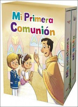 Portada MI PRIMERA COMUNIÓN - EQUIPO SAN PABLO - EDICIONES PAULINAS