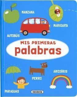 Portada MIS PRIMERAS PALABRAS (APRENDI -  - SUSAETA