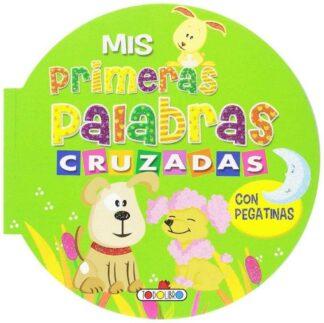 Portada MIS PRIMERAS PALABRAS CRUZADAS CON PEGATINAS VERDES -  - TODOLIBRO
