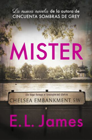 Portada MISTER  - E.L.JAMES - SALVAT