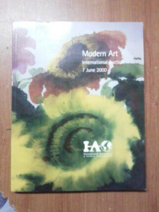 Portada MODERN ART - VVAA - INTERNATIONAL AUCTIONEERS