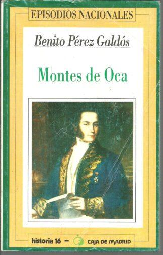 Portada MONTES DE OCA - BENITO PEREZ GALDOS - HERNANDO