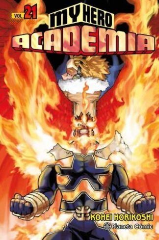 Portada MY HERO ACADEMIA Nº 21 - KOHEI HORIKOSHI - PLANETA COMIC