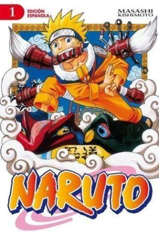 Portada NARUTO 01 - KISHIMOTO, MASASHI -