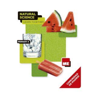Portada NATURAL SCIENCE 3 MADRID STUDENT BK LEARN TOGETHER - RIACH,MAGGI / SADOVY, BEATRICE / HOT ENGLISH PUBLISHI -