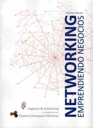 Portada NETWORKING. EMPRENDIENDO NEGOCIOS - - - CLAVERO CHAMPSAUR EDICIONES