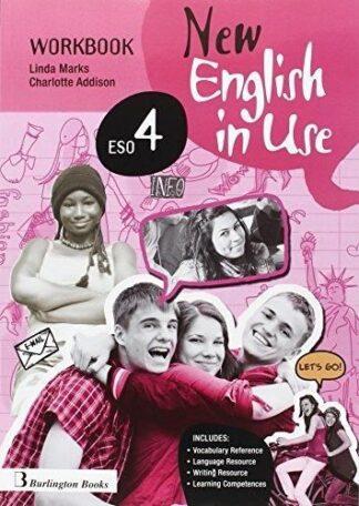 Portada NEW ENGLISH IN USE ESO 4 WORKBOOK + LANGUAGE BUILDER - VVAA -