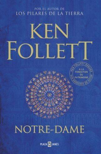Portada NOTRE-DAME - FOLLETT, KEN/LACOMBE, BENJAMIN (IL.) - CIRCULO DE LECTORES