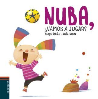 Portada NUBA, ¿VAMOS A JUGAR? -  - EDELVIVES