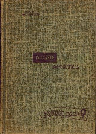 Portada NUDO MORTAL - MARY MCMULLEN - CUMBRE