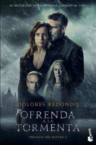 Portada OFRENDA A LA TORMENTA (ED. PELÍCULA) - DOLORES REDONDO - BOOKET