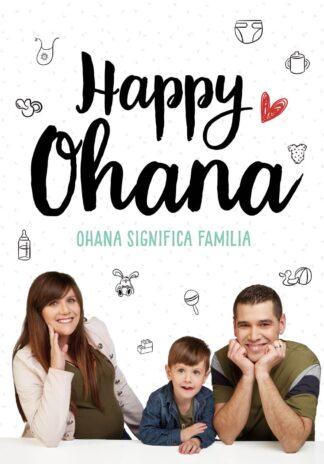 Portada OHANA SIGNIFICA FAMILIA - HAPPY OHANA, -