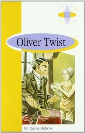 Portada OLIVER TWIST. 4 ESO.BURLINGTON. - DICKENS,CHARLES -