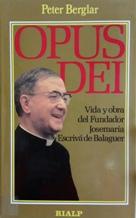 Portada OPUS DEI - PETER BERGLAR - RIALP