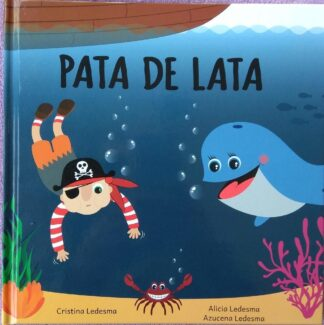 Portada PATA DE LATA - CRISTINA LEDESMA MUÑOZ -