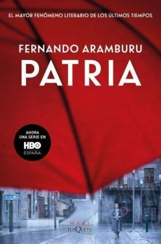 Portada PATRIA PORTADA SERIE - ARAMBURU, FERNANDO - TUSQUETS