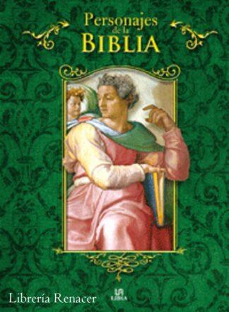 Portada PERSONAJES DE LA BIBLIA -  - LIBSA