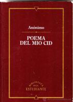 Portada POEMA DEL MIO CID - ANONIMO - CLUB INTERNACIONAL DEL LIBRO