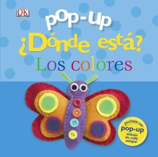 Portada POP-UP ¿DONDE ESTA? LOS COLORES. -  - BRUÑO