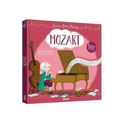 Portada PRIMERAS NOTAS MUSICALES,MOZART -  -