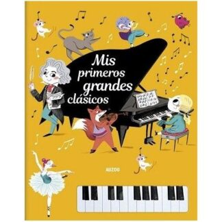 Portada PRIMEROS GRANDES CLASICOS.PIANO. -  -