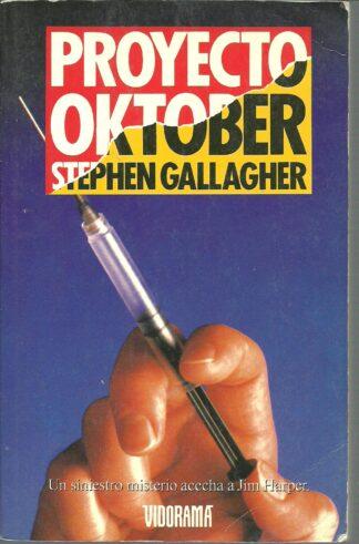 Portada PROYECTO OKTOBER - STEPHEN GALLAGHER - VIDORAMA
