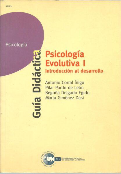 Portada PSICOLOGIA EVOLUTIVA I - VARIOS AUTORES - UNED