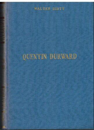 Portada QUENTIN DURWARD - WALTER SCOTT - ALONSO