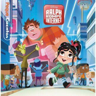 Portada RALPH ROMPE INTERNET. PEQUECUENTOS - DISNEY - LIBROS DISNEY