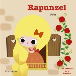 Portada RAPUNZEL (TEXTURAS) -  - CIRCULO DE LECTORES