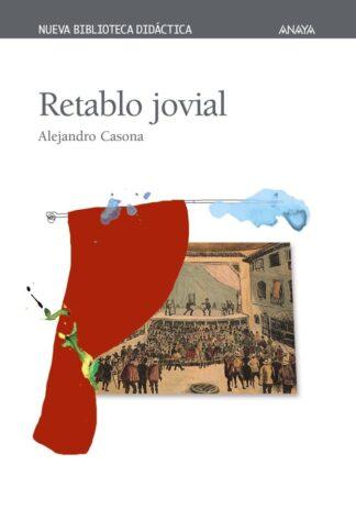 Portada RETABLO JOVIAL - ALEJANDRO CASONA - ANAYA