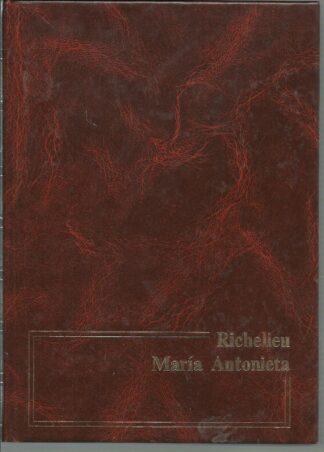 Portada RICHELIEU  MARIA ANTONIETA - WILLY ANDREAS - NAJERA
