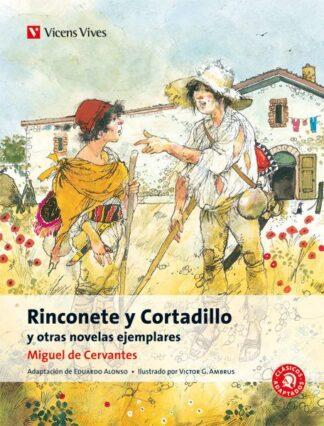 Portada RINCONETE Y CORTADILLO Y OTRAS NOVELAS EJEMPLARES - CERVANTES SAAVEDRA, MIGUEL / ALONSO GONZALEZ, EDUARDO - VICENS VIVES