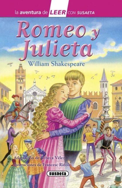 Portada ROMEO Y JULIETA - Shakespeare, William - SUSAETA