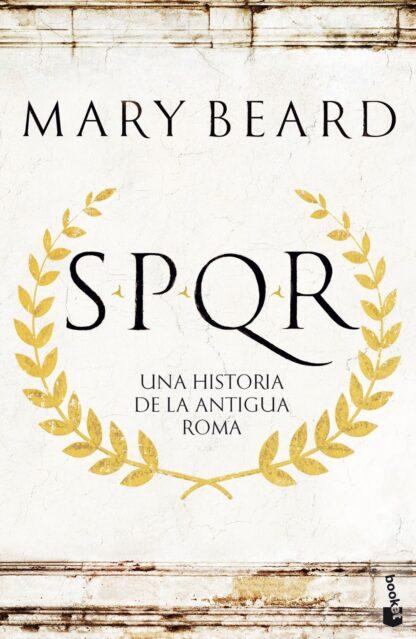 Portada SPQR. BOOKET - MARY BEARD - CIRCULO DE LECTORES