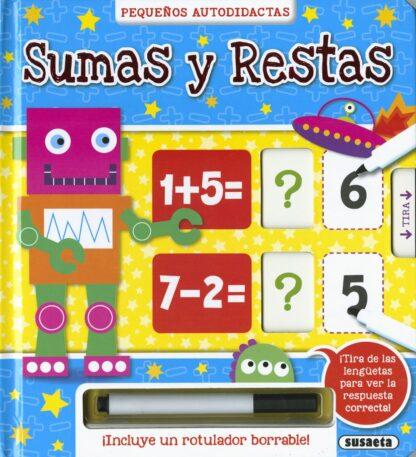 Portada SUMAS Y RESTAS - SUSAETA, EQUIPO - SUSAETA