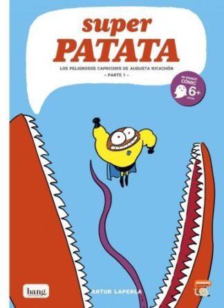 Portada SUPERPATATA 8 - ARTUR LAPERLA  - BANG EDICIONES