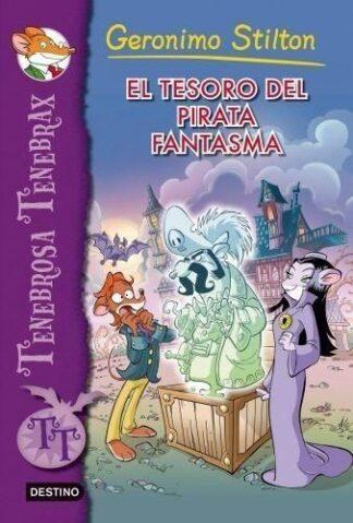 Portada TENEBROSA TENEBRAX 3. EL TESORO DEL PIRATA FANTASM -  - CIRCULO DE LECTORES