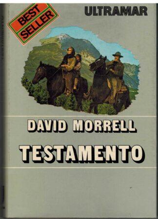 Portada TESTAMENTO - DAVID MORRELL - ULTRAMAR