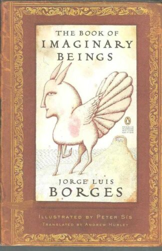 Portada THE BOOK OF IMAGINARY BEINGS - JORGE LUIS BORGES - PENGUIN